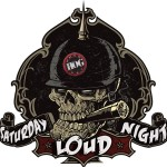Saturday Night Loud logo designed for WHOG 95.7 in Daytona…