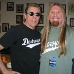 Hanging with georgethorogoodofficial a few years back in Raleigh NChellip