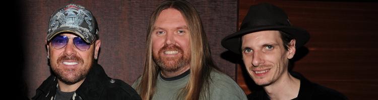 Musicians header bryan and jason bonham