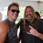 Fun hanging with Chris Jericho yesterday .. #RockNRoll #Fozzy #LiveLifeLoud