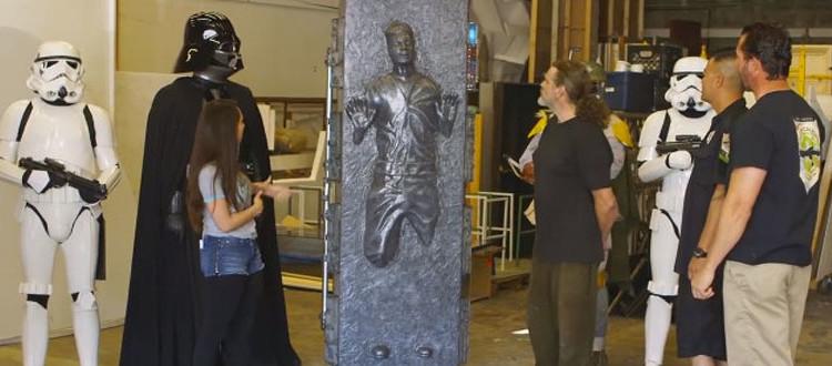 Star wars carbonite table