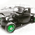 Just playing around in Photoshop today #ClassicCars #Hotrod #LimeGreen #BadAss