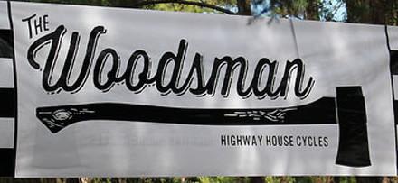 woodsman cup flag