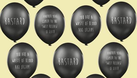 rude balloons