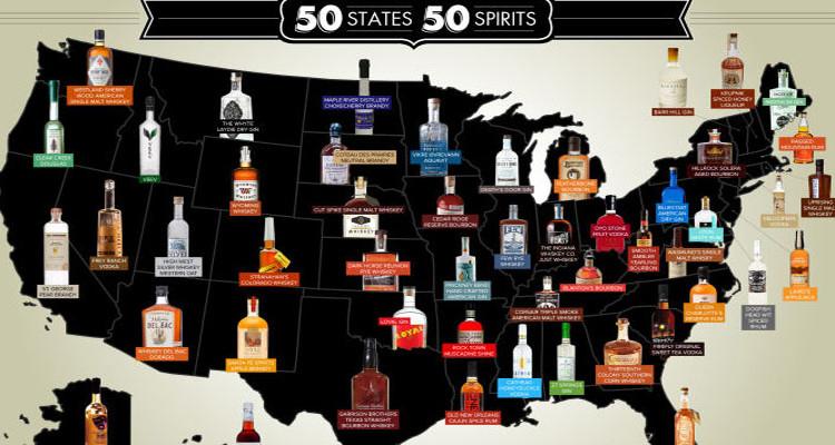 best booze map
