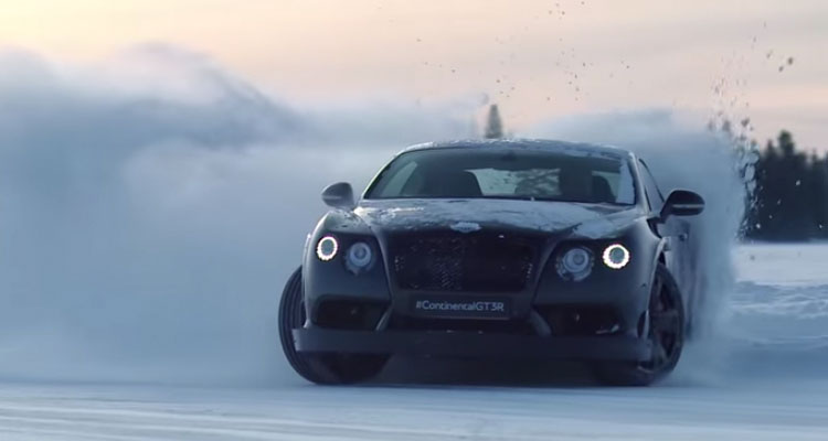 bentley drifting
