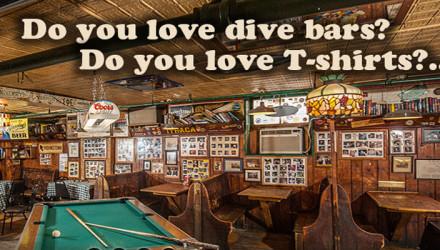 dive bar shirt club
