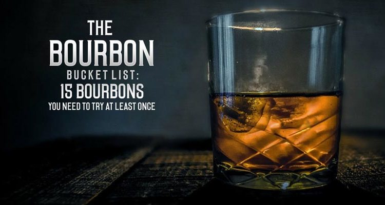 bourbon bucket list
